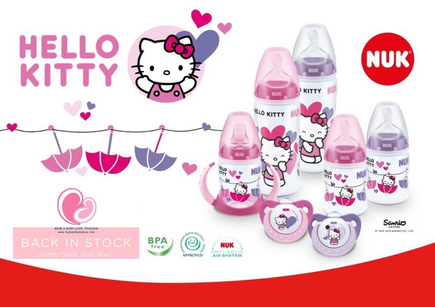 NUK Hello Kitty Range
