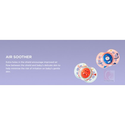 Tommee Tippee CTN Air Style Orthodontic Soother 0-6 Months (1pc)