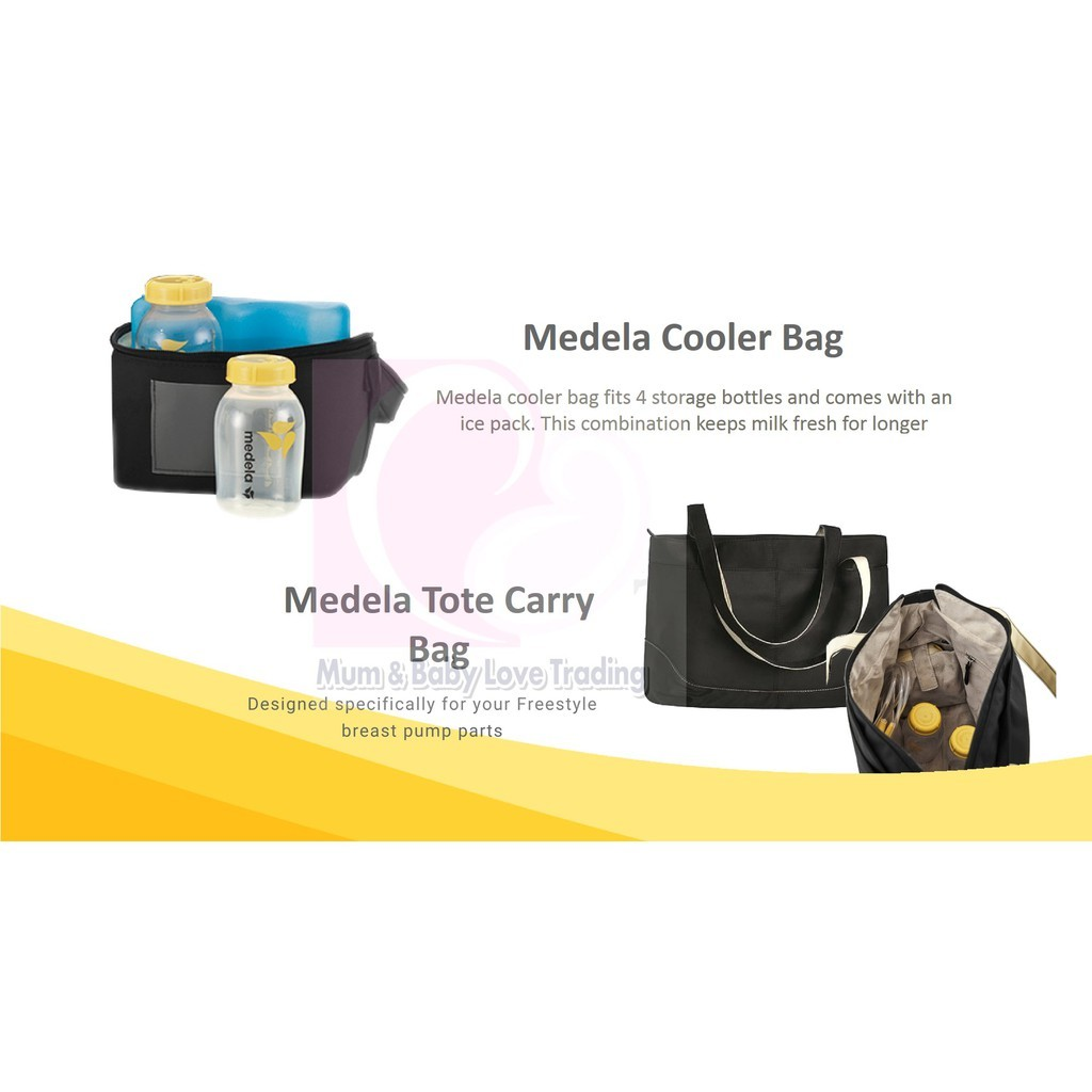 Medela Freestyle Double Electric Breast Pump Free Calma Teat