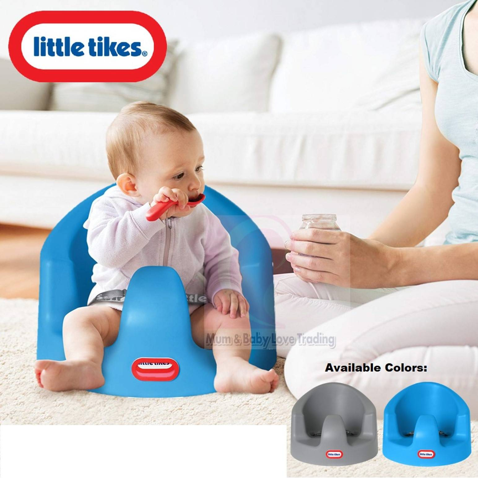 Little Tikes My First Seat Infant Floor Foam Seat 4 Months