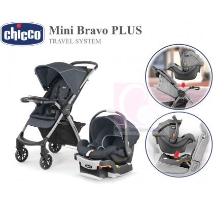 Stupendous Chicco Mini Bravo Plus Travel System Stroller Keyfit 30 Alphanode Cool Chair Designs And Ideas Alphanodeonline