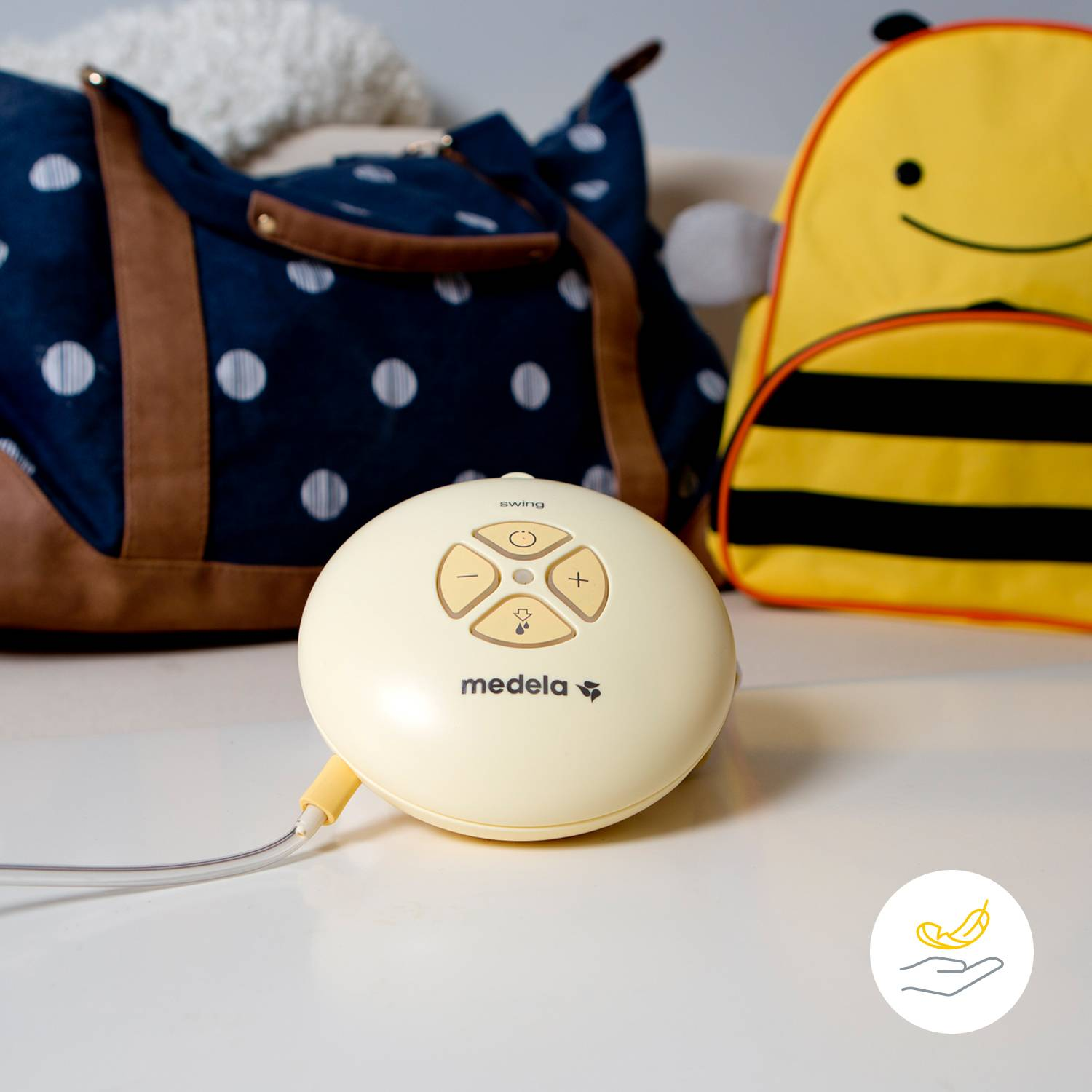 Medela Swing Flex Single Electric Breast Pump 21mm 24mm