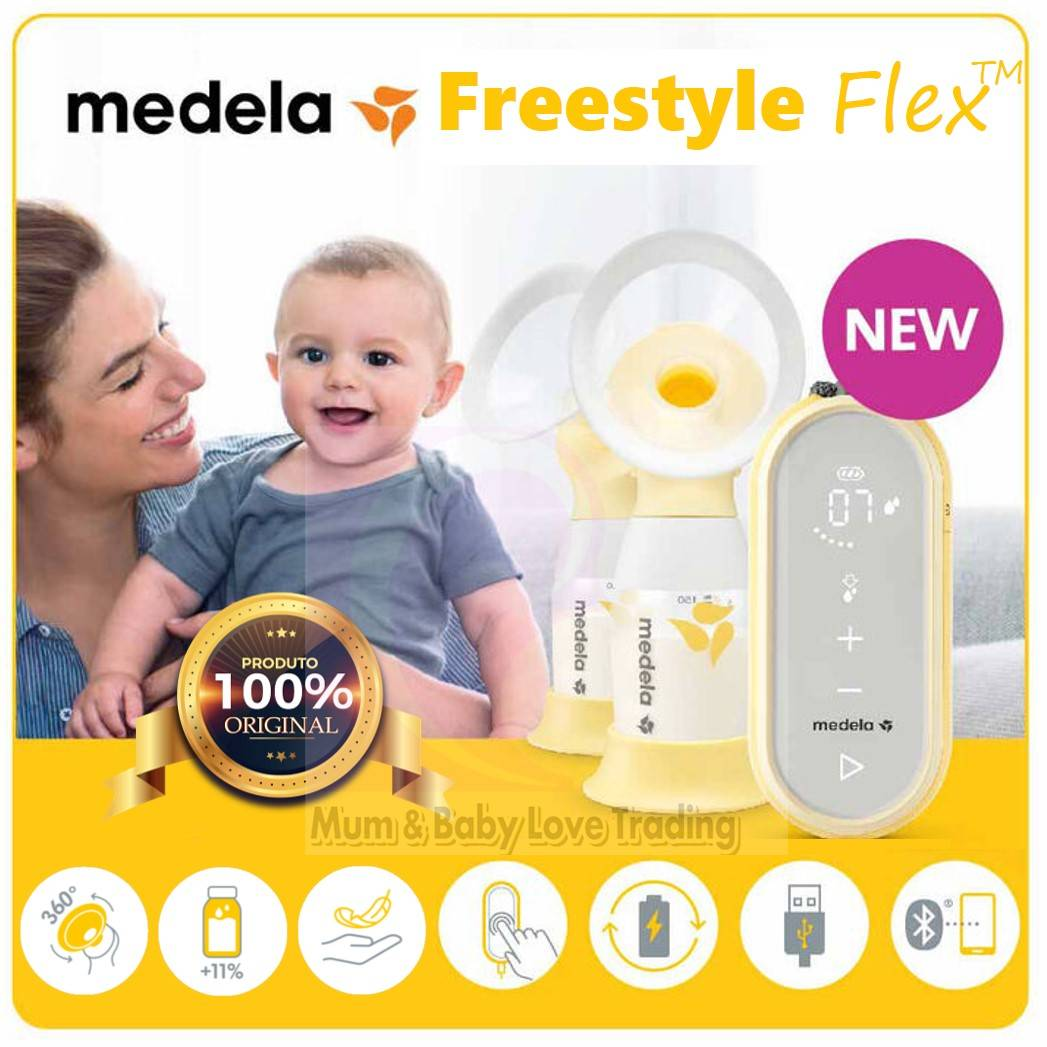 Medela Freestyle Flex Usb Rechargeable Double Electric Breast Pump