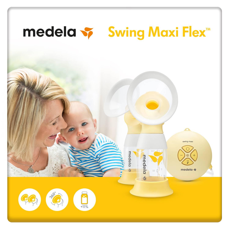 Medela Swing Maxi Flex Double Electric Breast Pump Free Isa Uchi
