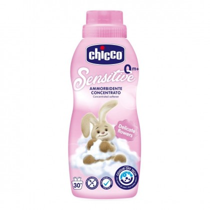 Chicco Sensitive Concentrated Softener 750ml (Delicate Flowers/ Tender Touch/ Sweet Talcum)
