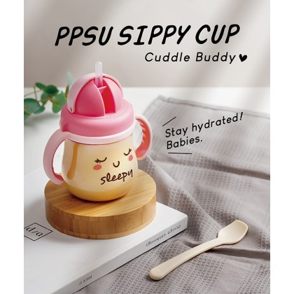 Simba GOOD MOOD PPSU Sippy Cup 250ml (Blue/Pink)