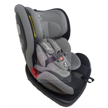 Halford Elegance 360 Rotatable Baby Car Seat with Isofix System (Newborn- 36kg)
