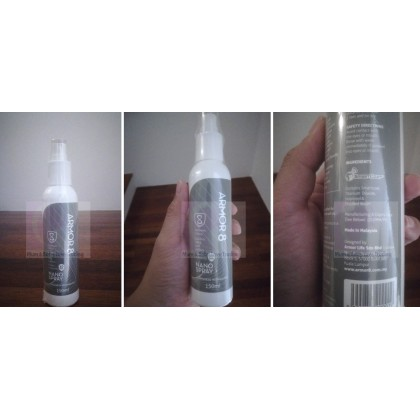 Armor8 Nano Spray Anti-Bacteria Long-Lasting Disinfectant Sanitiser (150ml)- 1pc