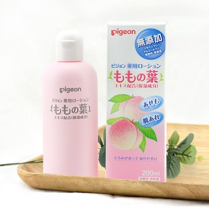 Pigeon Momo Baby Lotion with Peach Leaf Extract 200ml