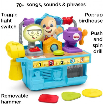 Fisher Price Laugh & Learn Busy Learning Tool Bench ( 6 - 36 Months )