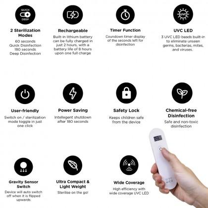 UV-Med Hailey Pocket UVC LED Portable Steriliser