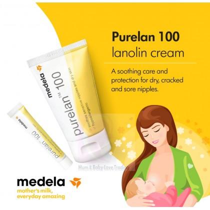 Medela Purelan 100 Lanolin Nipple Cream (7g/ 37g)- Expiry year 2023